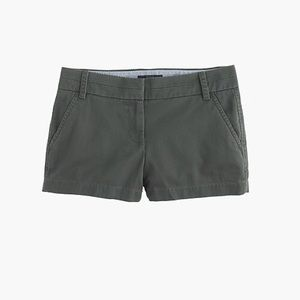 [J. Crew ] light green shorts- size 2